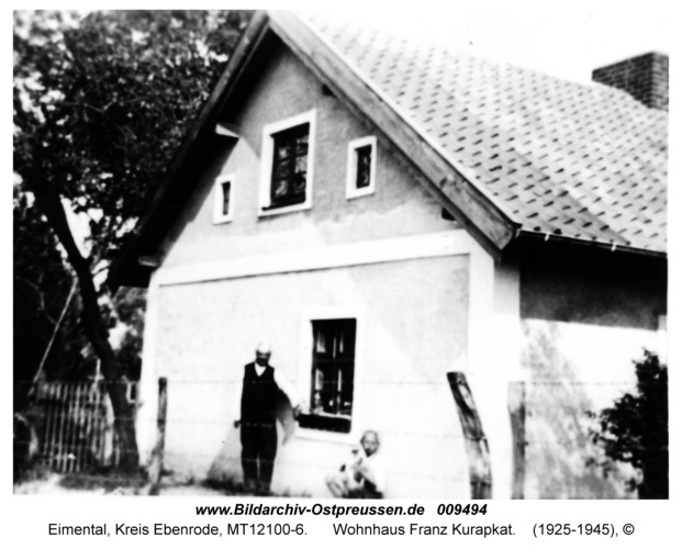 Eimental, Wohnhaus Franz Kurapkat
