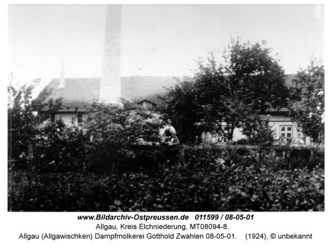 Allgau (Allgawischken) Dampfmolkerei Gotthold Zwahlen 08-05-01