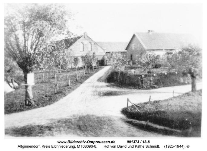 Altginnendorf, Hof von David und Käthe Schmidt