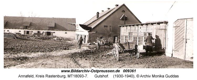 Annafeld, Gutshof