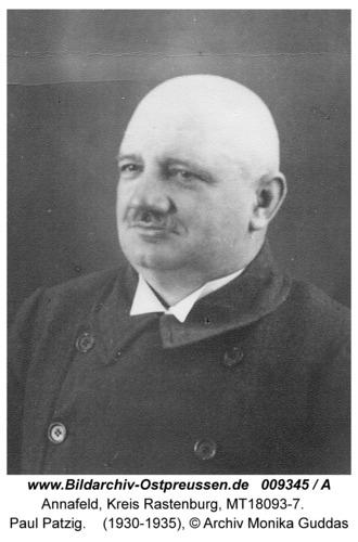 Annafeld, Paul Patzig