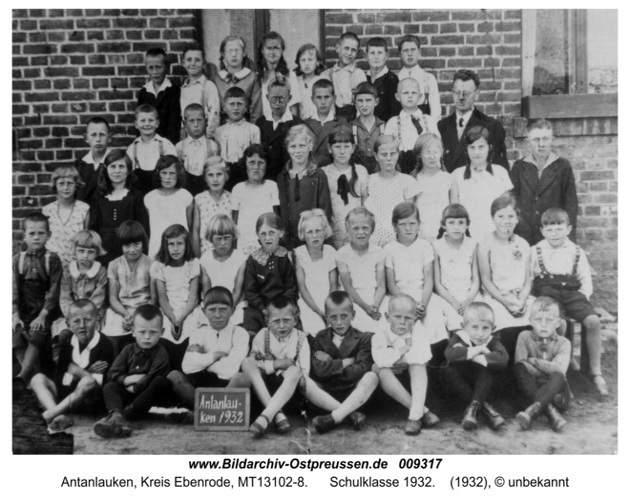 Antonshain, Schulklasse 1932