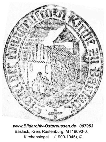 Bäslack, Kirchen, Siegel