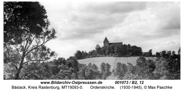 Bäslack, Kirche