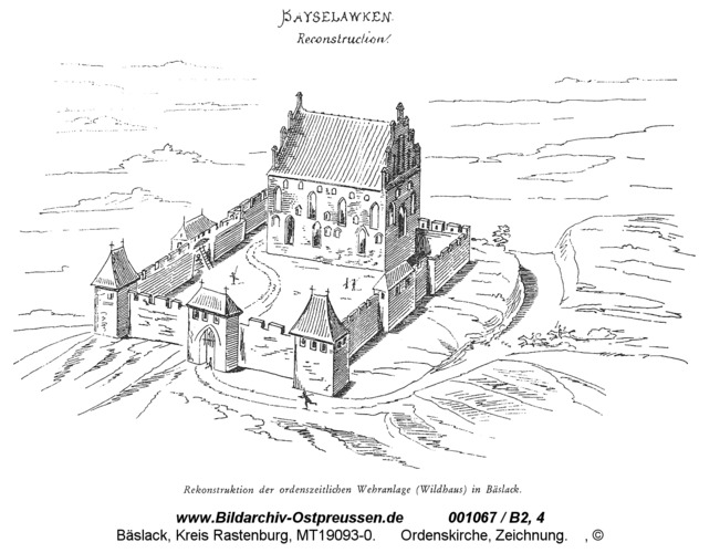 Bäslack, Wildhaus, Zeichnung