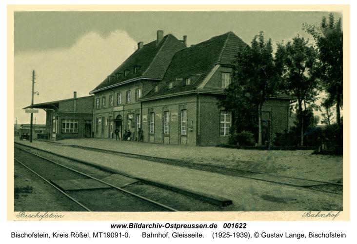 Bischofstein, Bahnhof, Gleisseite