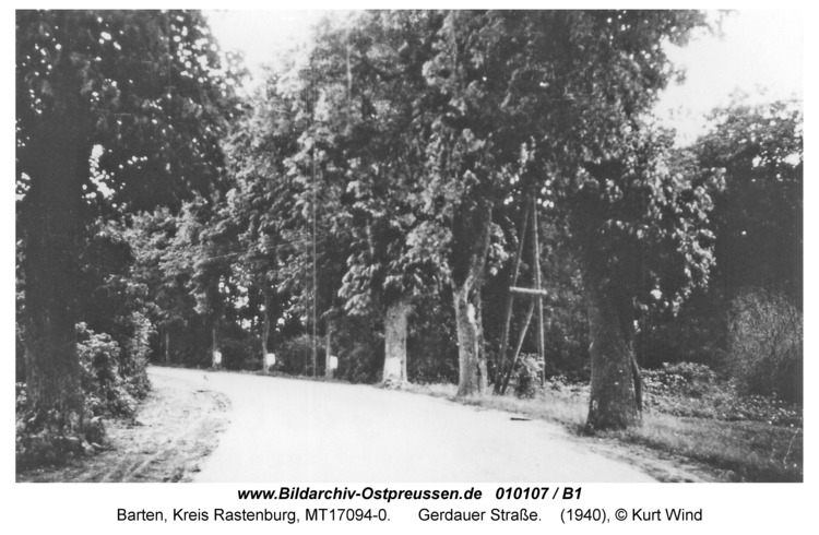 Barten, Gerdauer Straße