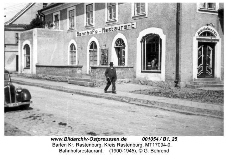 Barten, Hauptstraße, Bahnhofshotel
