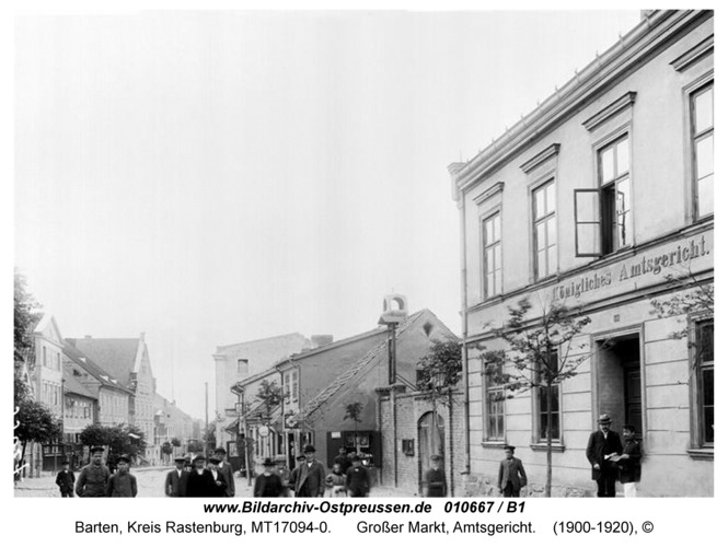 Barten, Großer Markt, Amtsgericht