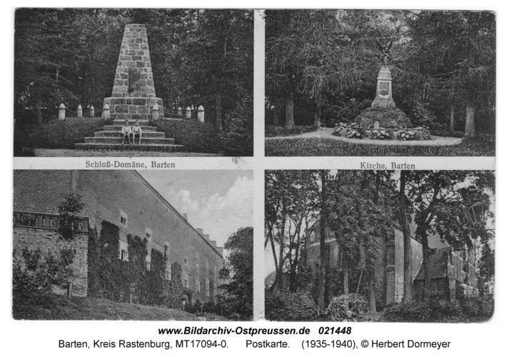 Barten, Postkarte