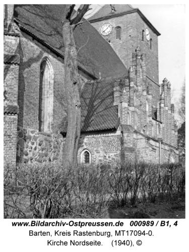 Barten, Kirche, Nordseite