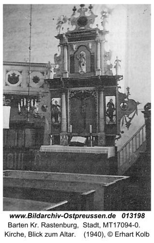 Barten, Kirche, innen