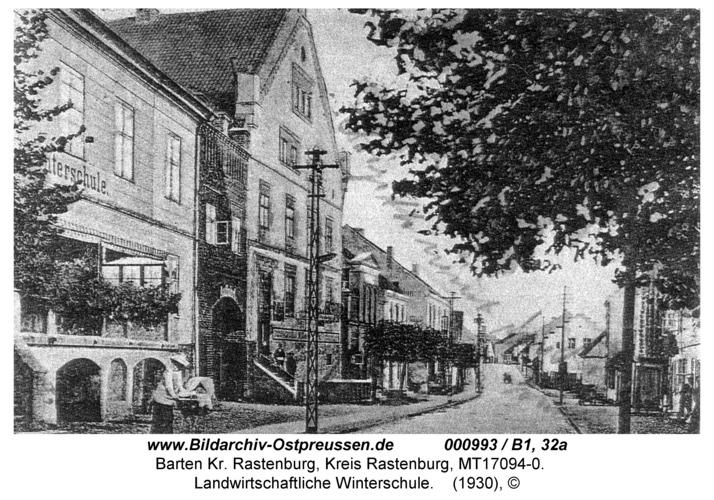 Barten, Hauptstraße, Landwirtschaftliche Winterschule