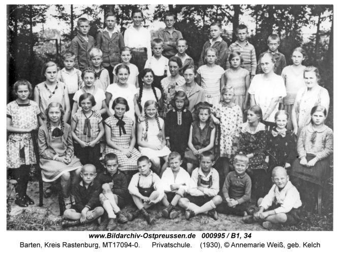 Barten, Privatschule