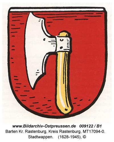 Barten, Stadtwappen