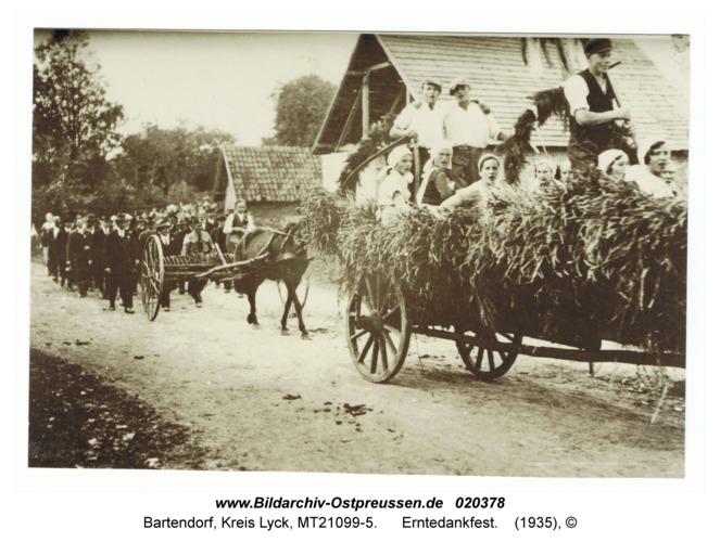 Bartendorf, Erntedankfest