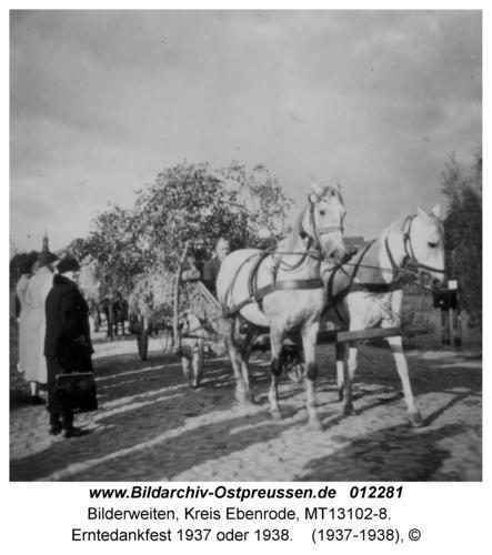 Bilderweiten, Erntedankfest 1937 oder 1938
