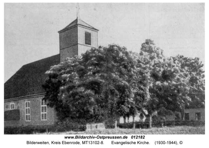Bilderweiten, Evangelische Kirche
