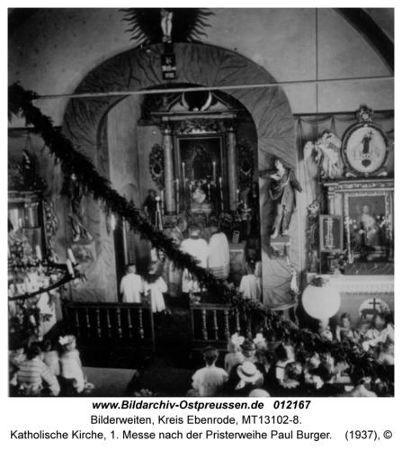 Bilderweiten, Katholische Kirche, 1. Messe nach der Priesterweihe Paul Burger