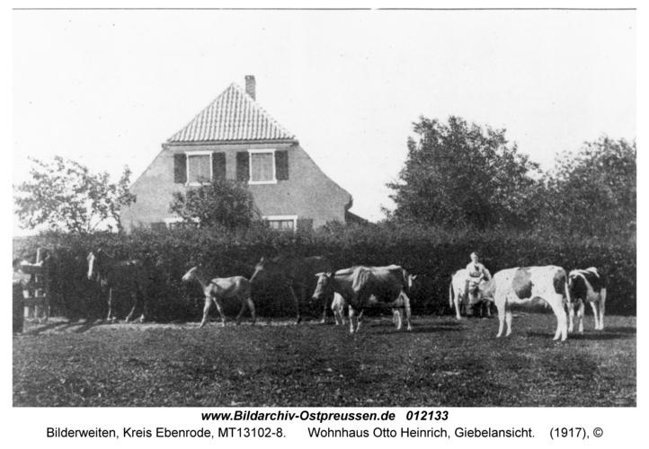Bilderweiten, Wohnhaus Otto Heinrich, Giebelansicht