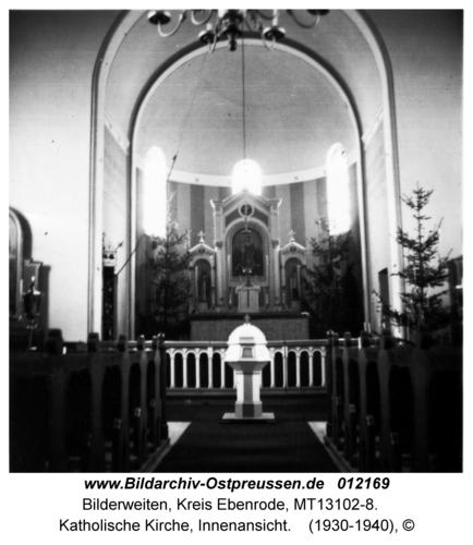 Bilderweiten, Katholische Kirche, Innenansicht