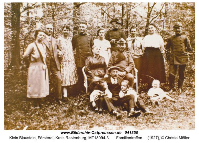 Klein Blaustein, Familientreffen