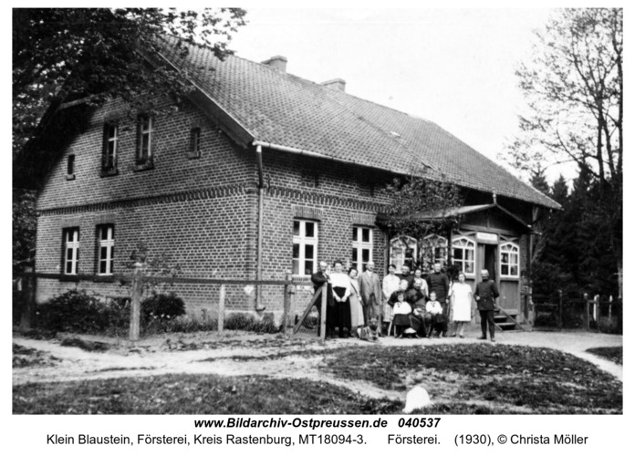 Klein Blaustein, Försterei