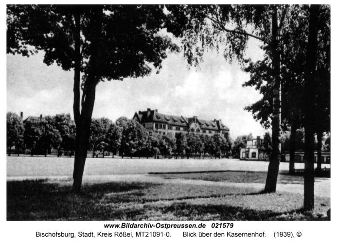 Bischofsburg, Blick über den Kasernenhof