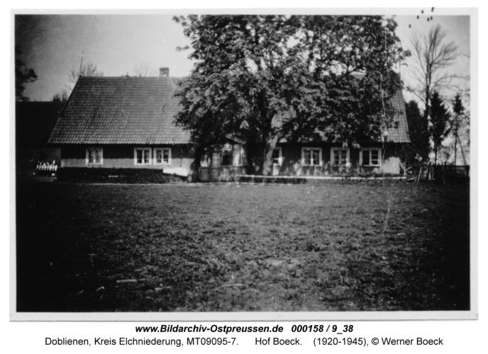 Doblienen, Hof Boeck