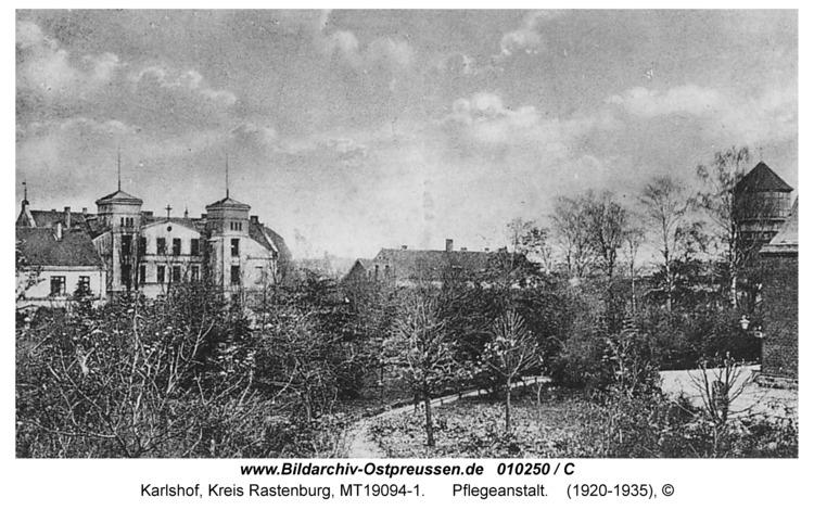 Carlshof, Heil- und Pflegeanstalt
