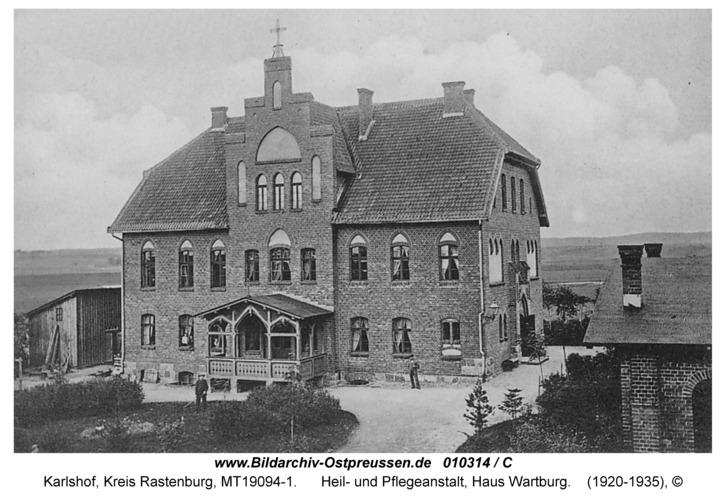 Carlshof, Heil- und Pflegeanstalt, Haus Wartburg