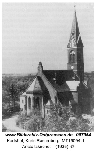 Carlshof, Anstaltskirche