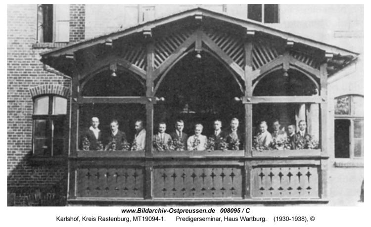 Carlshof, Predigerseminar, Haus Wartburg