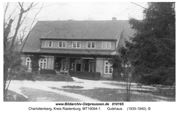 Charlottenberg, Gutshaus