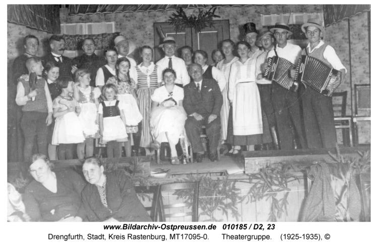 """Drengfurt, Philisterdamm, Hotel """"Hindenburg"""", Theatergruppe"""
