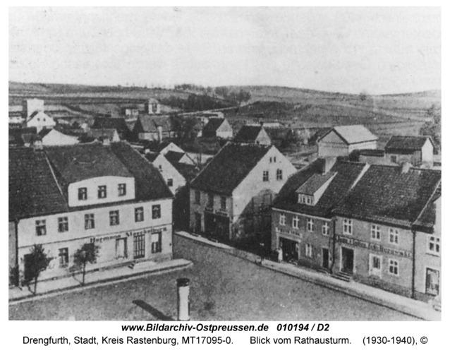 Drengfurt, Blick vom Rathausturm