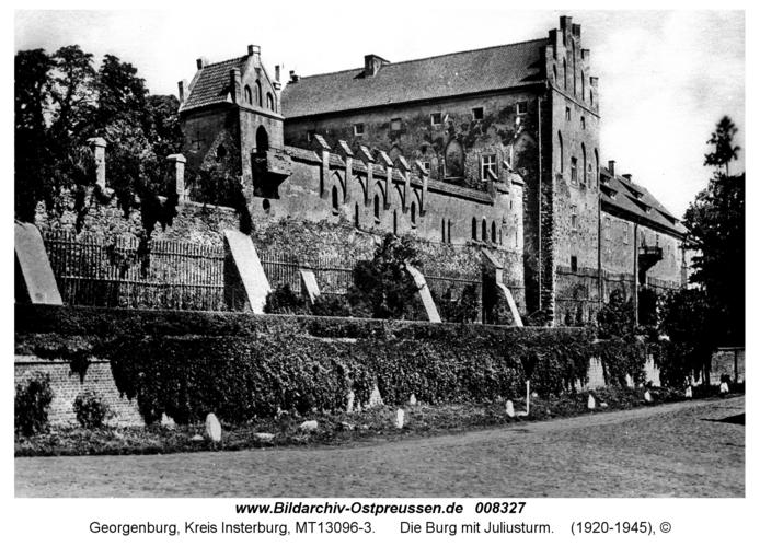 Georgenburg, Die Burg mit Juliusturm