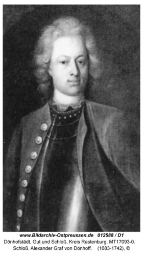 Dönhofstädt, Schloß, Alexander Graf von Dönhoff