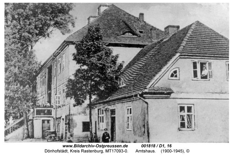 Dönhofstädt, Amtshaus