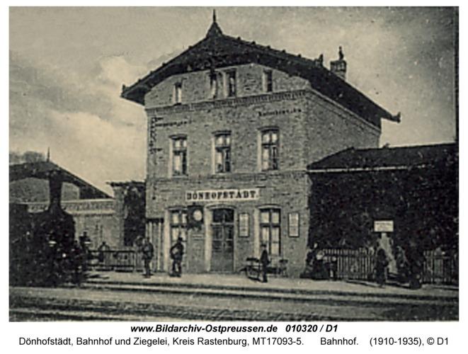 Dönhofstädt, Bahnhof