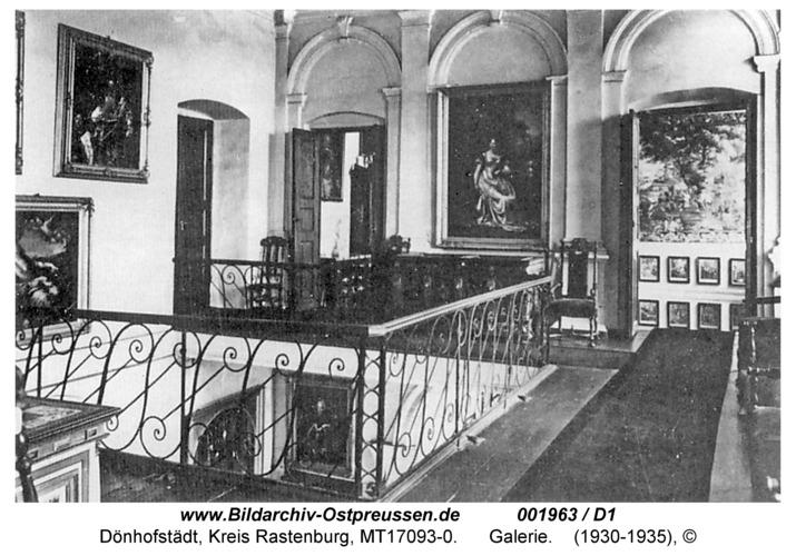 Dönhofstädt, Schloß, Galerie