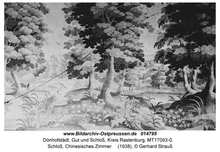 Dönhofstädt, Schloß, Chinesisches Zimmer