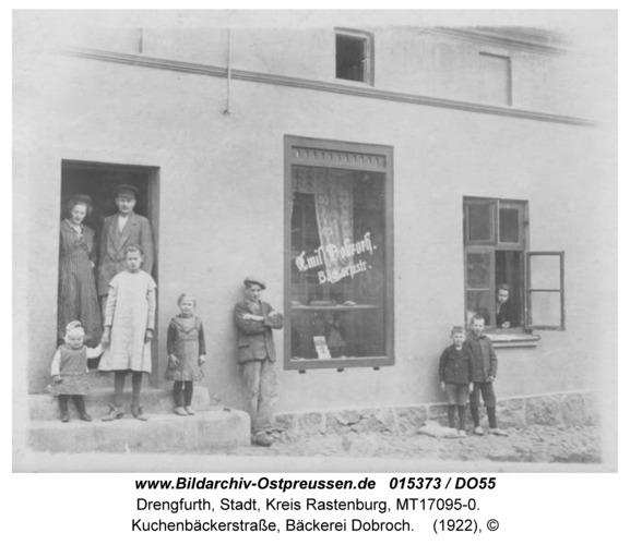 Drengfurt, Kuchenbeckerstraße, Bäckerei Emil Dobroch