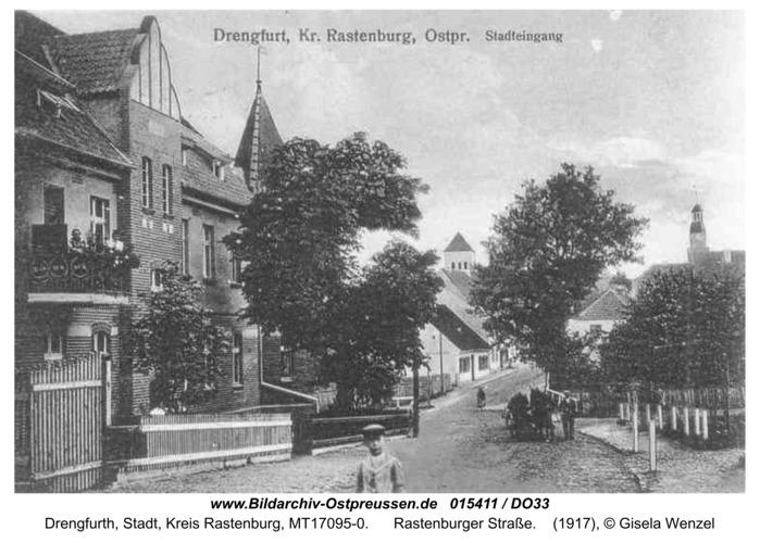 Drengfurt, Rastenburger Straße
