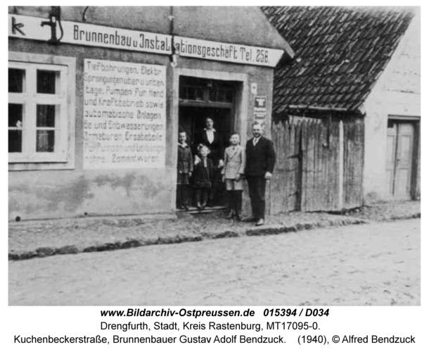 Drengfurt, Kuchenbeckerstraße, Brunnenbauer Gustav Adolf Bendzuck