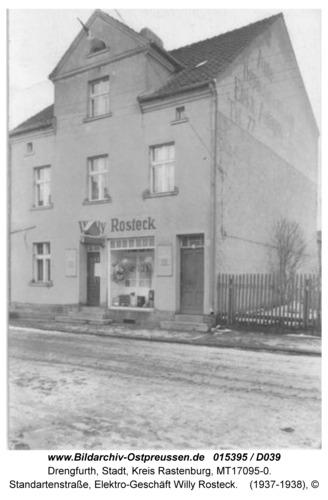 Drengfurt, Standartenstraße, Elektro-Geschäft Willy Rosteck