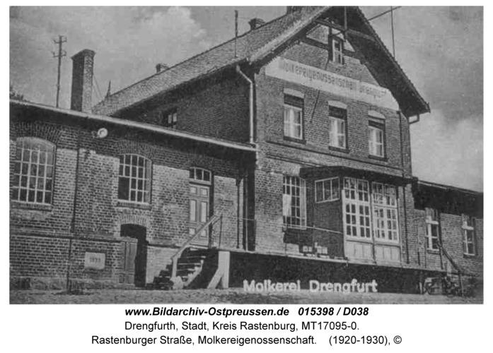 Drengfurt, Rastenburger Straße, Molkereigenossenschaft