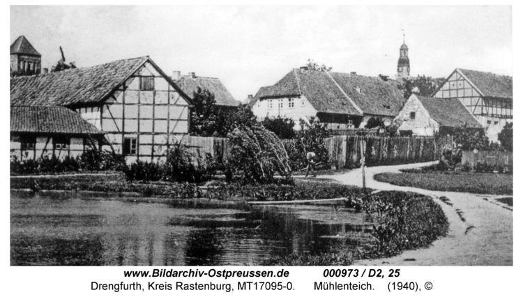 Drengfurt, Mühlenteich