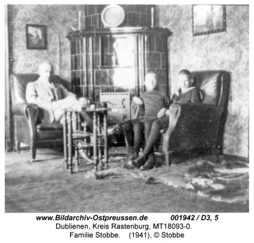Dublienen, Familie Stobbe