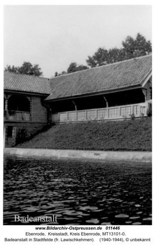 Ebenrode, Badeanstalt